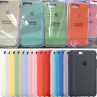 Original Ultra Thin Genuine Silicone Case Cover for Apple iPhone X 10 8 Plus
