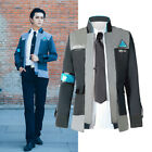 Внешний вид - Detroit: Become Human Connor RK800 Cosplay Costume Suit Outfit Mens Coat Jacket