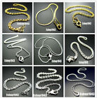 Free 18kgb Jewelry Wholesale Gold Silver Plated Snake Chain Necklaces With Clasp