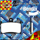 BENDIX 124-MF FRONT SINTERED BRAKE PADS TO FIT MOTORCYCLES DETAILED IN LISTING $36.56 AUD on eBay