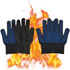 Внешний вид - Heat Resistant Silicone Kitchen Barbecue Oven Cooking BBQ Baking Safety Gloves