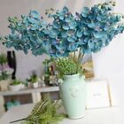 Artificial Flowers Plant Home Room Decor Orchid Silk Bouquet Phalaenopsis USA