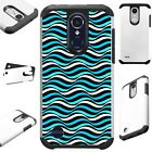 FusionGuard For Apple / LG Phone Case Hybrid Cover TEAL SEA WAVE