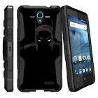 For ZTE Zfive 2 and ZTE Prestige 2 Shockproof Dual Layer Case