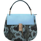 MKF Collection by Mia K. Farrow Python Charlie Cross-Body Bag NEW