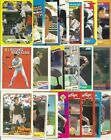 Benito Santiago cards/lot - YOU PICK! SD Padres/CIN/SF/CHIC/FLA - Great variety