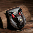 Outdoor PU Leather Belt Ammo Pellet Pouch Storage Bag for Slingshot Steel Ball D