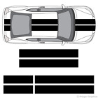 """Scion tC or FR-S 10"""" Solid Racing Stripes 3M Vinyl Decal Kit 10in 10 inch $64.99 USD on eBay"""