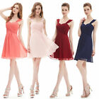 Ever-Pretty Short Evening Dresses Bridesmaid Backless Cocktail Party Gown 03539