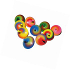 BESTSALLER 35 mm Spiral Pattern Hand Painted Finger Top Toy (Multi-Colour)