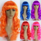 1x Big Wavy Long Curly Hair Wig Stage Dance Prop Wig Cosplay Model Show Wig 55cm