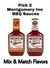 2 Pack Montgomery Inn BBQ Sauce 18 oz Each Sweet & Tangy &