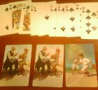 NORMAN ROCKWELL 10CT JOHN MCGRAW PLAYING CARS 1950'S  ALL CLUBS BASEBALL +2