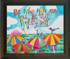 Desk Frame - Religious Art - Be Who You Are artwork by Br. Mickey McGrath, OSFS