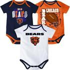 @ NFL Chicago Bears Baby 3-pt Play 3pk Bodysuit Set
