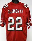 NEW Mens REEBOK San Francisco 49'ers NFL Clements #22 Screened Football Jersey