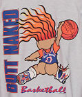 Vintage 1993 BUTT NAKED Troll BASKETBALL T-Shirt 2-Side Print NWT NEW Old Stock image