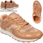 LADIES CAMOUFLAGE TRAINERS GLITTERING RUNNING WOMENS CASUAL SHOES UK 3 4 5 6 7 8