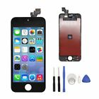 For iPhone 5S LCD Screen Digitizer Glass Assembly Replacement Part 100% Tested