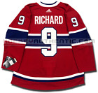 MAURICE RICHARD MONTREAL CANADIENS HOME AUTHENTIC PRO ADIDAS NHL JERSEY $170.49 USD on eBay