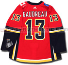 JOHNNY GAUDREAU CALGARY FLAMES HOME AUTHENTIC PRO ADIDAS NHL JERSEY
