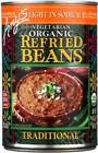Amy'S Organic Light In Sodium Traditional Refried Beans 1...