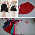 Внешний вид - Chiffon  Ballet Leotard Tutu Skirt Dance Skate Wrap Scarf Costume Dress10 Colour