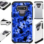 FUSIONGuard For Samsung Galaxy NOTE 9 8 S9 S8 Phone Case ARTISTIC CAMO BLUE