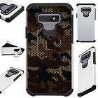 FUSIONGuard For Samsung Galaxy NOTE 9 8 S9 S8 Phone Case CAMO MESH BROWN