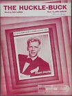 1949 THE HUCKLE-BUCK Alfred & Gibson FRANK SINATRA Sheet Music