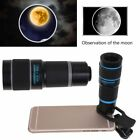 HD 18X Optical Zoom Clip on Camera Lens Phone Telescope For Universal Cell Phone