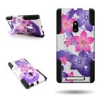 For Nokia Lumia 830 Dual Layered Case w/ Stand Cover