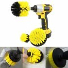 3 Pcs Power Scrub Brush Drill Cleaning Brush For Bathroom Sh