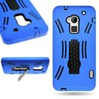 Hybrid Armor Tough Protector Kickstand Phone Cover Case for HTC One Max