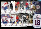 2008-09 MONTREAL CANADIENS CENTENNIAL 100th NHL CARD & 50 CENTS & PATCH SEE LIST $1.0 CAD on eBay