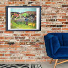 Paul Gauguin - Farmer Wall Art Poster Print