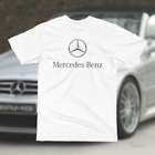 NEW MERCEDES LOGO  T SHIRT PRINT ALL SIZES image