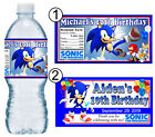 20 SONIC THE HEDGEHOG BIRTHDAY PARTY FAVORS WATER BOTTLE LAB
