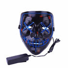 "US Light Up Masks ""Stitches"" LED Costume Mask (Halloween Rave Cosplay Edm Purge)"