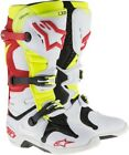 Alpinestars Tech 10 2014 MX Offroad Boots White/Red/Yellow