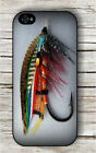 SALMON FLY FISHING OUTDOOR SPORT #3 CASE FOR iPHONE 4 5 5C 6 -aed3X