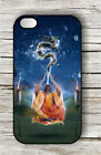 MEDITATION DRAGON CONTACT WITH MONK CASE FOR iPHONE 4 5 5C 6 -swe3X