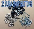 "Внешний вид - 25-DURA-SNAP UPHOLSTERY BUTTONS #30-#36 WITH 3/4"" -1 1/2"" SCREW STUDS-ANY COLOR"