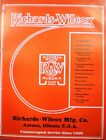 Richards-Wilcox ASBESTOS Fire Doors Catalog Fyer-Wall Fyer-Ward 1950