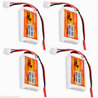 4Pcs 2S 7.4V 450mAh 20C Li-Po Battery Pack for Hlicopter Airplane Truck Car Boat
