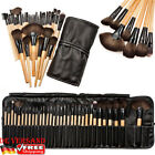 Kyпить 32tlg Make up Pinsel Kosmetik Pinselset Professionelle Brush Schminkpinsel Set на еВаy.соm