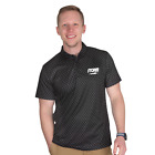 Storm Lightning Polo Black Mens Bowling Shirt Jersey
