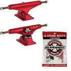 Independent Skateboard Trucks Hollow Red CHOOSE SIZE + Indy Phillips Hardware