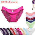 Women's Soft Underpants Seamless Lingerie Briefs Hipster Underwear Panties US