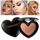 Bronzer Highlighter Face Makeup Heart Shape Pressed Powder Makeup Cosmetics Tool